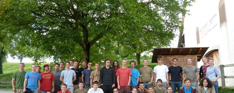 Naturnetz-Team im Sommer 2010